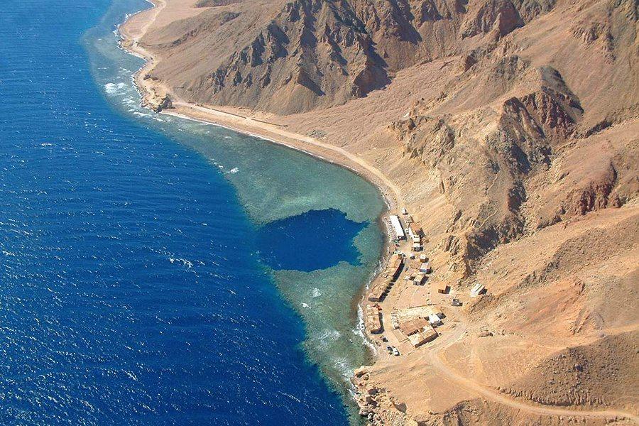 Dahab bluehole tauchplatz - Sinai Divers