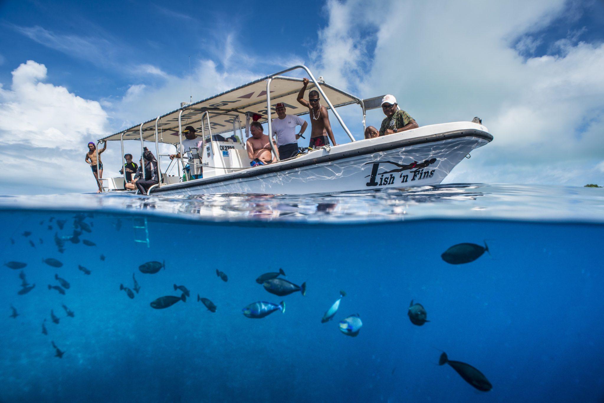 Fish n Fins boat - Fish n´Fins
