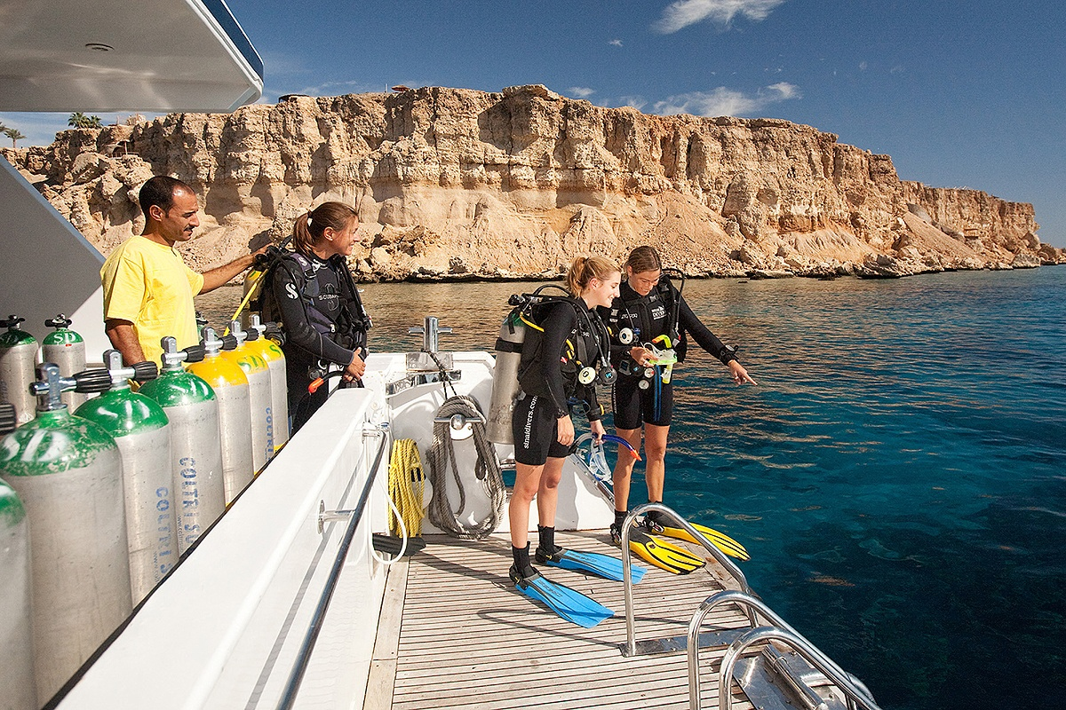 Sharm el Sheikh Tagesfahrten - Sinai Divers