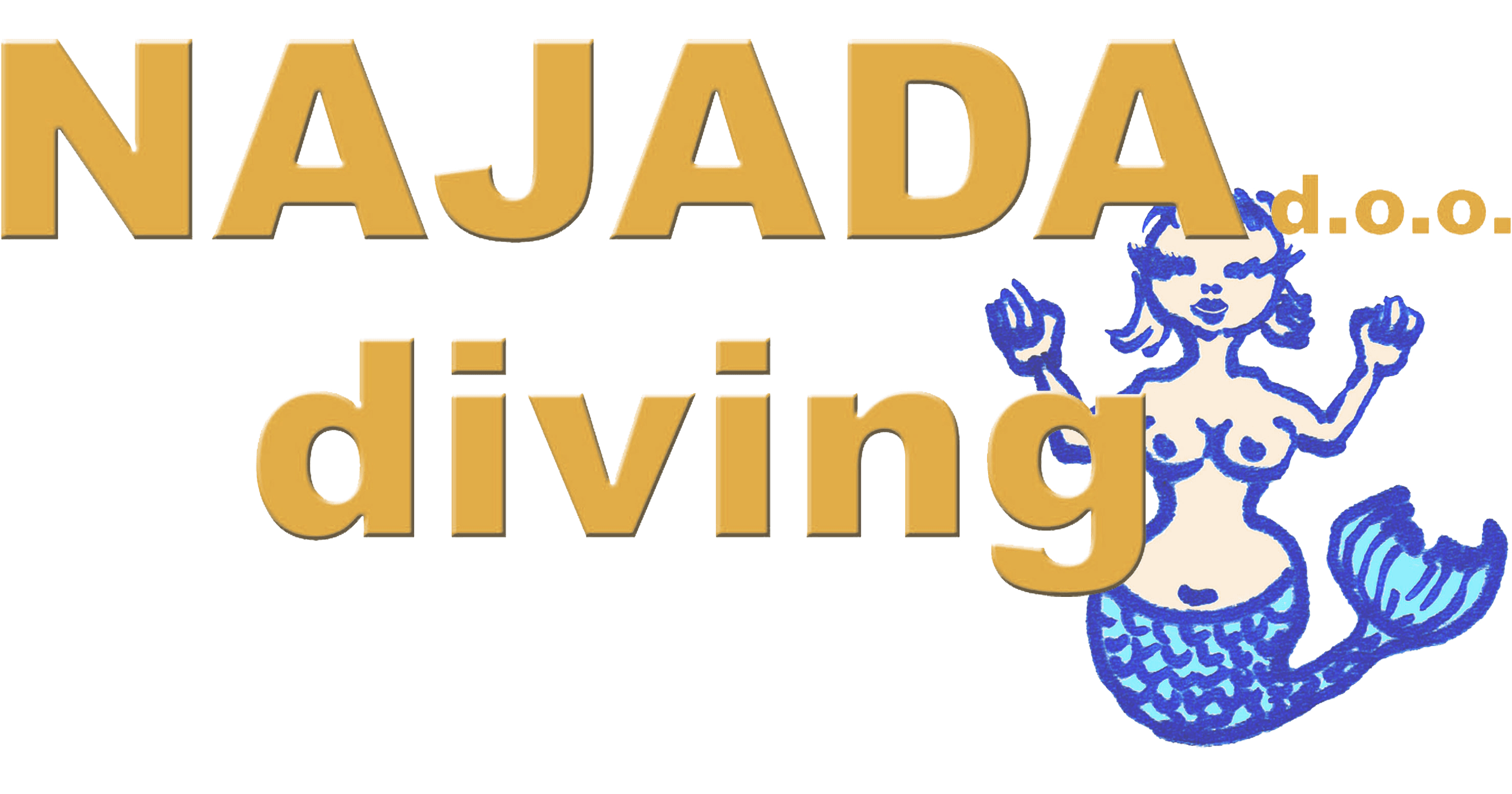 logonajadagross remastered - Najada diving